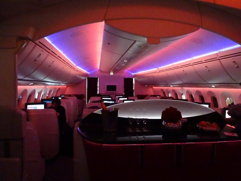 Qatar Airways Night