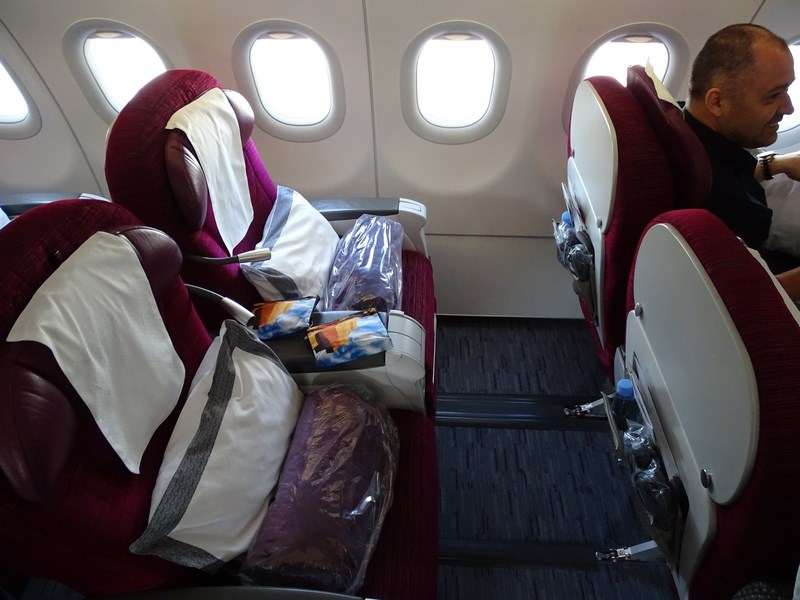 Business Class Qatar Airways A