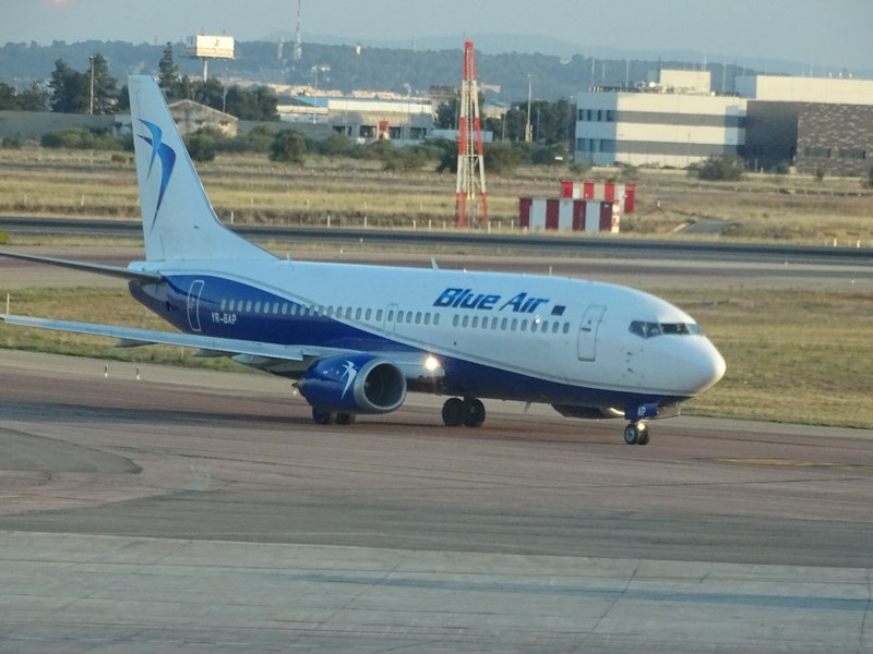 Blue Air Bucuresti Valencia