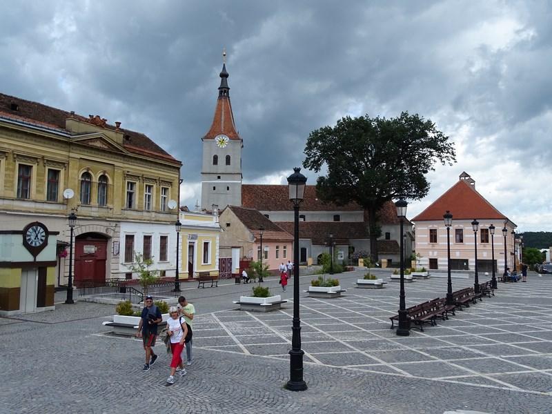Piata Centrala Din Rasnov