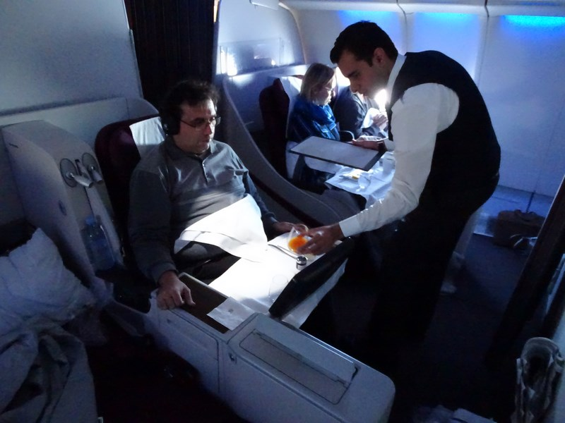 Serviciu Qatar Airways