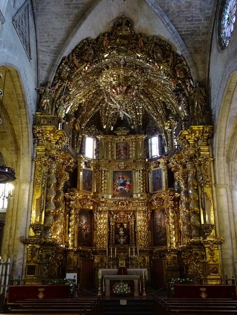 Interior Catedrala Morella
