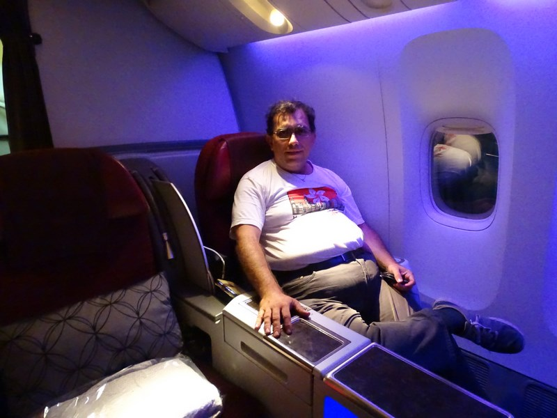 Boeing Business Class Qatar Airways