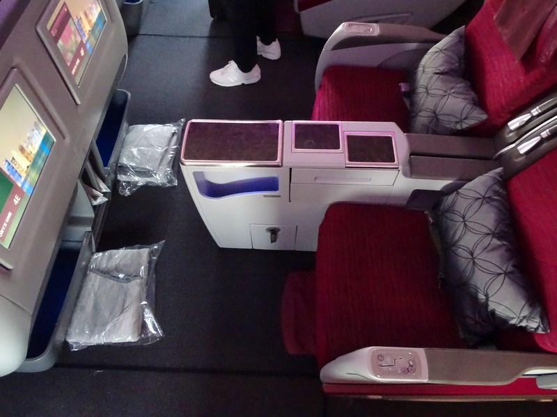 Seat Pitch QR B