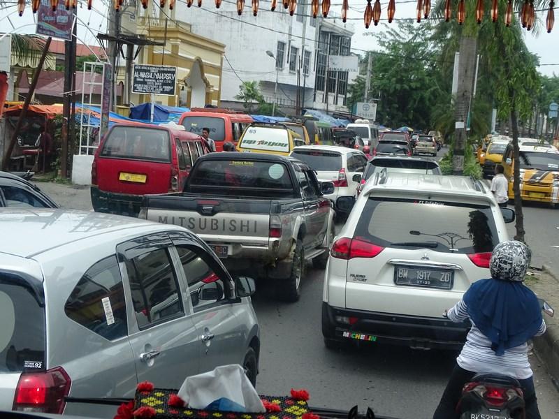 . Traffic Jam Medan
