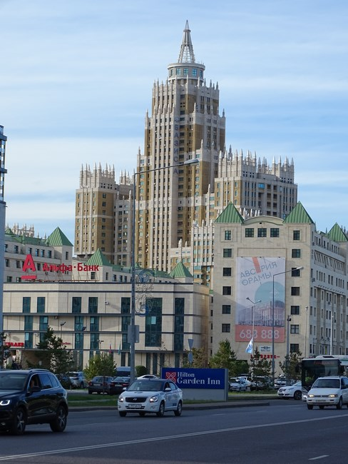 Arhitectura Sovietica In Astana