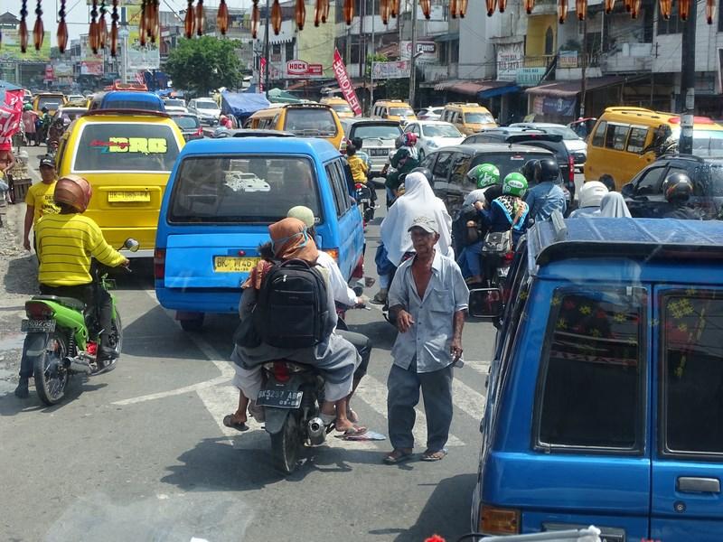 Traffic Jam Medan
