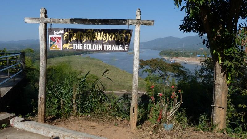 Golden Triangle Thailand Laos Myanmar