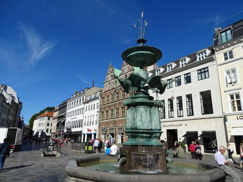 Strada Pietonala Copenhaga