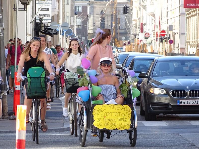 Bicicleta In Copenhaga