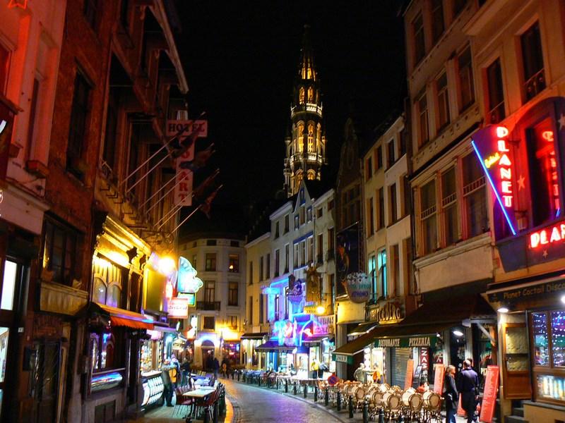 Bruxelles Noaptea