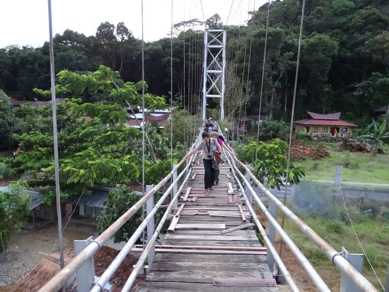 Bukit Lawang Bridge
