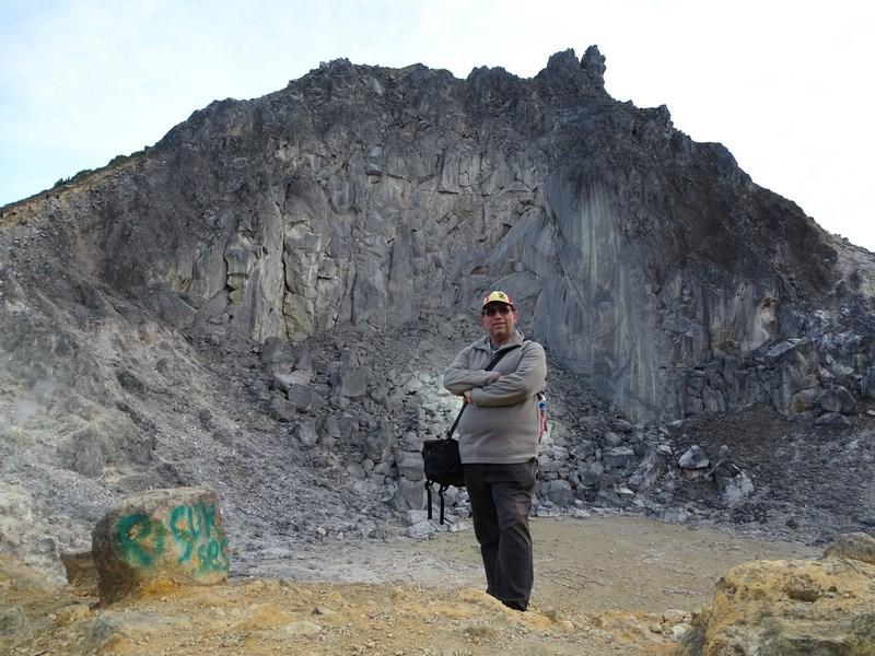 Pe Vulcanul Sibayak