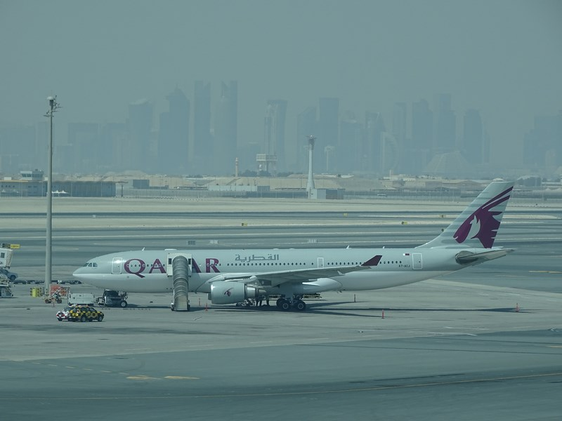 Qatar Airways In Doha