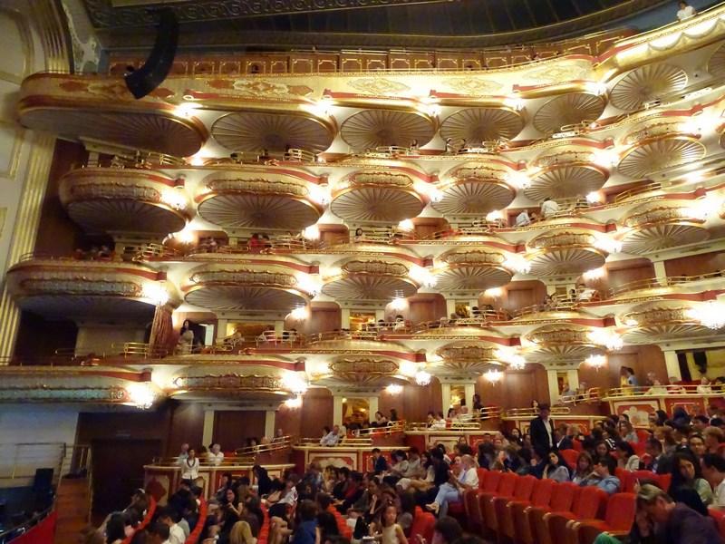 Interior Opera Astana