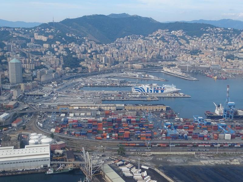 Portul Genova