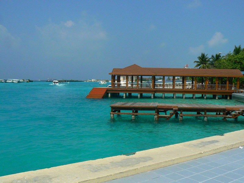 Maldive Statia Ferry Aeroport