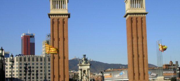 Placa Espanya Barcelona