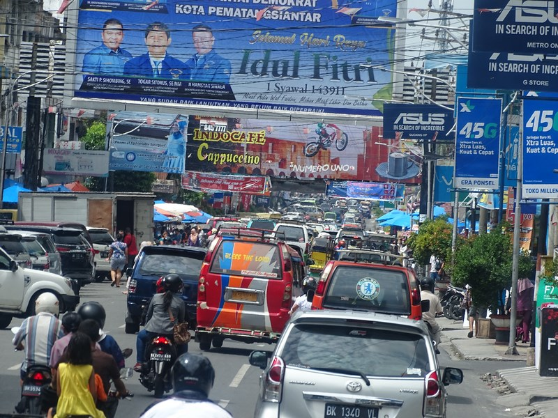 Medan Traffic Jam