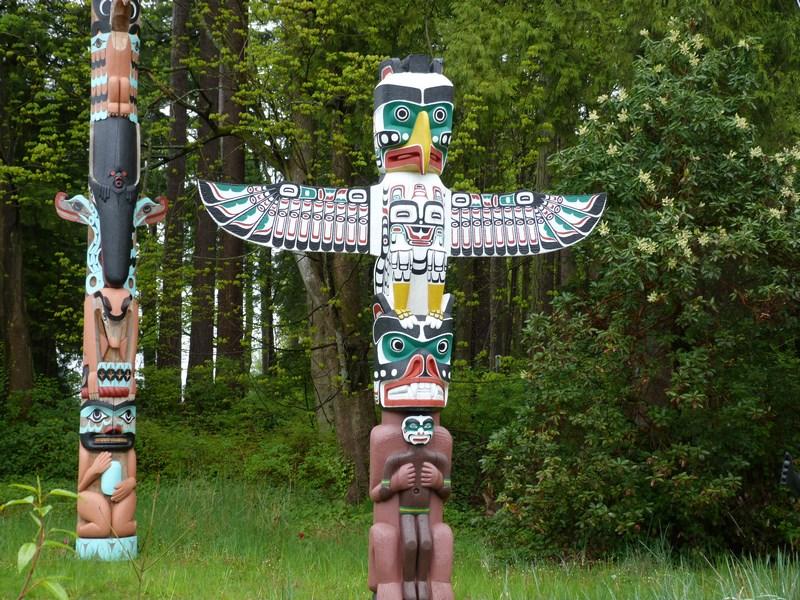 Totem Amerindian