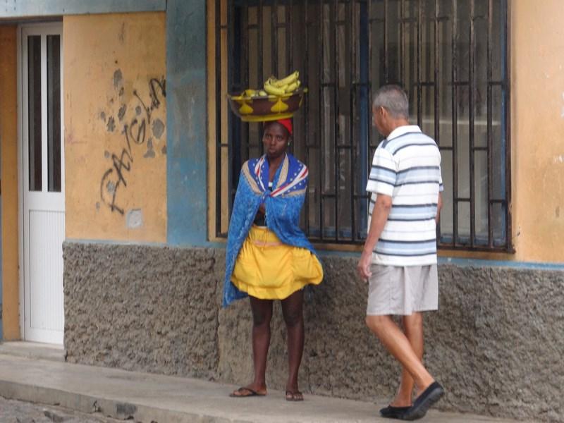 Vanzatoare Africana