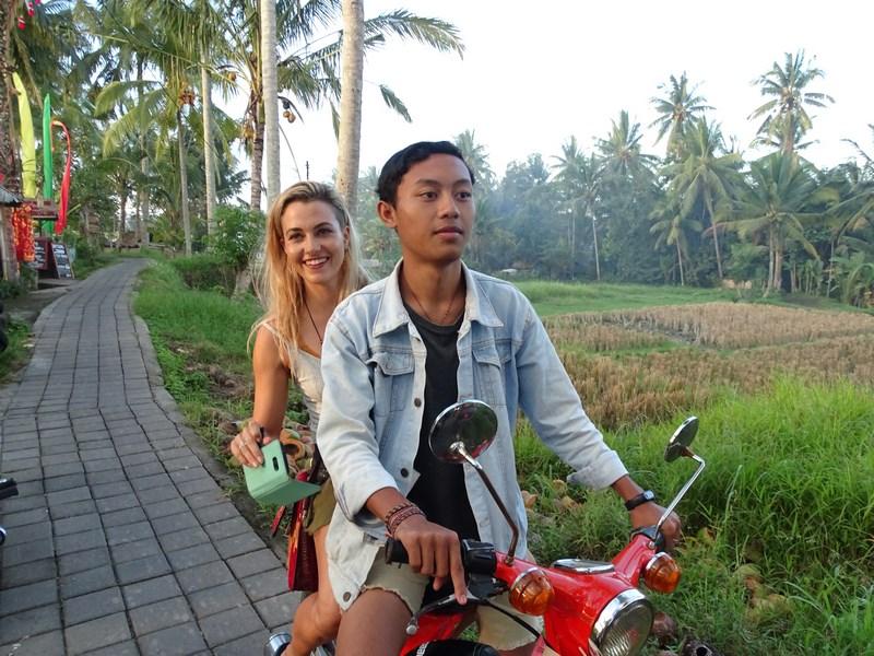 Moto Taxi Ubud