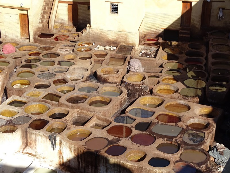 Tanneries Fez