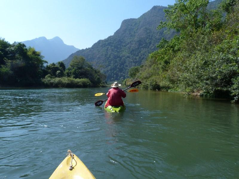 Canoe Vang Vieng