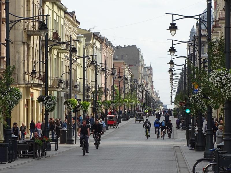 Ulica Piotrkowska Lodz