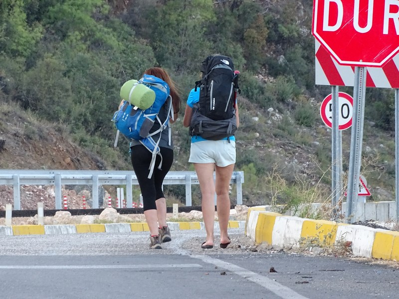 Backpacking In Antalya