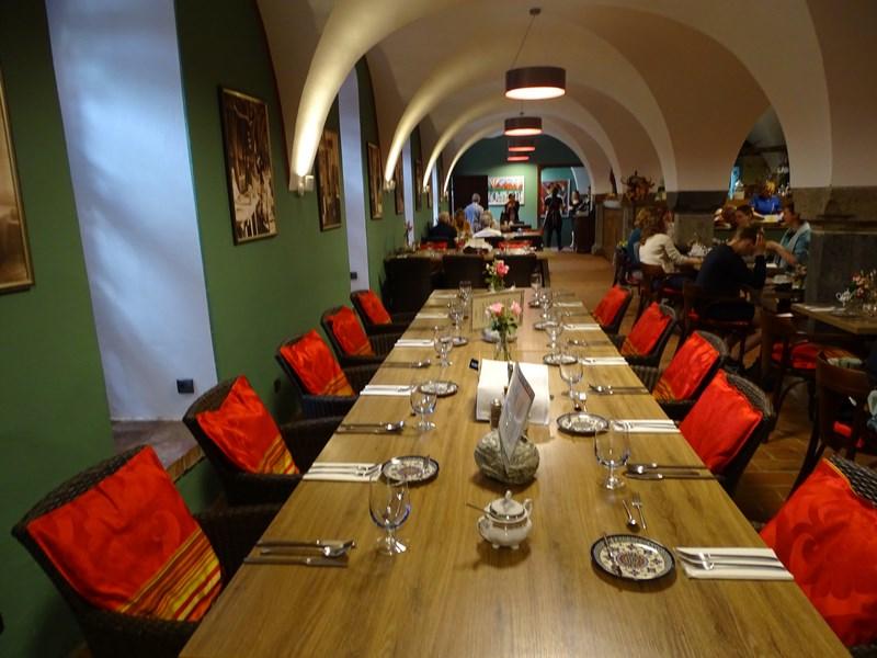 Gothic Restaurant Interior