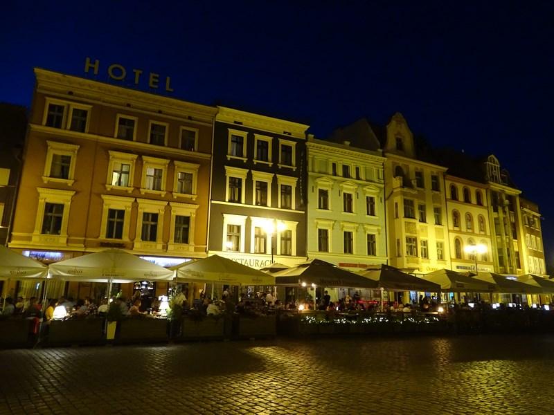 Piata Centrala Noaptea
