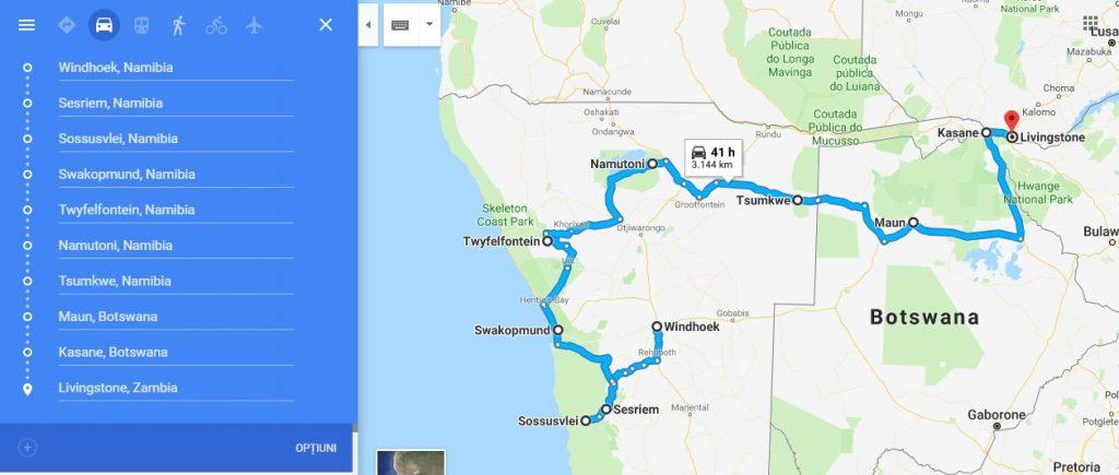 Namibia Route