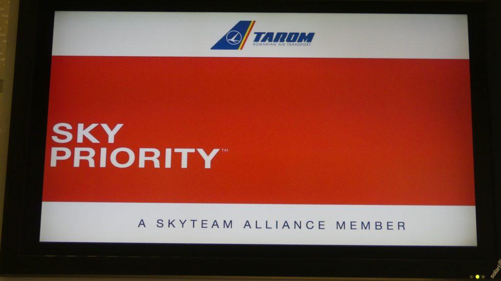 Tarom Sky Priority