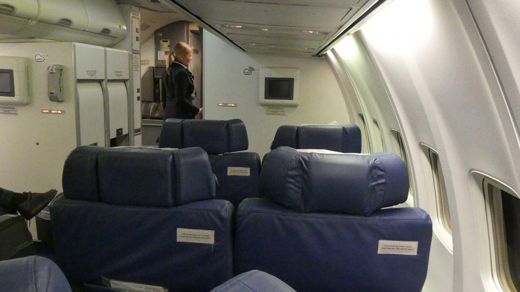 Business Class Boeing