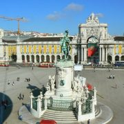 Praca Do Comercio. Lisabona