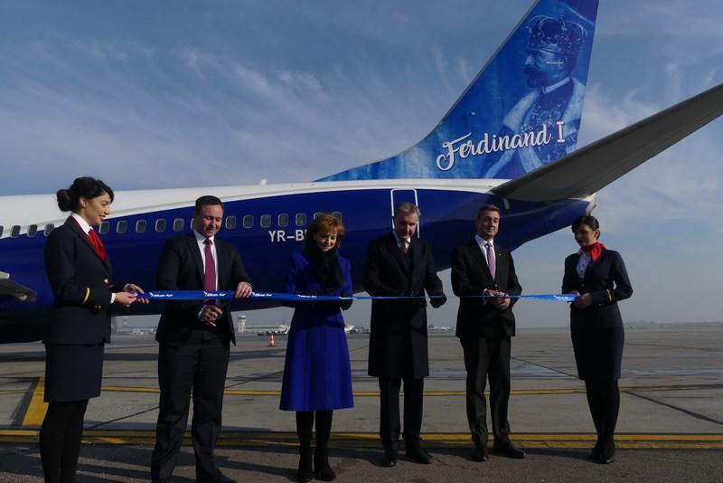 Inaugurare Blue Air Ferdinand