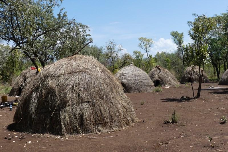 Mursi Village