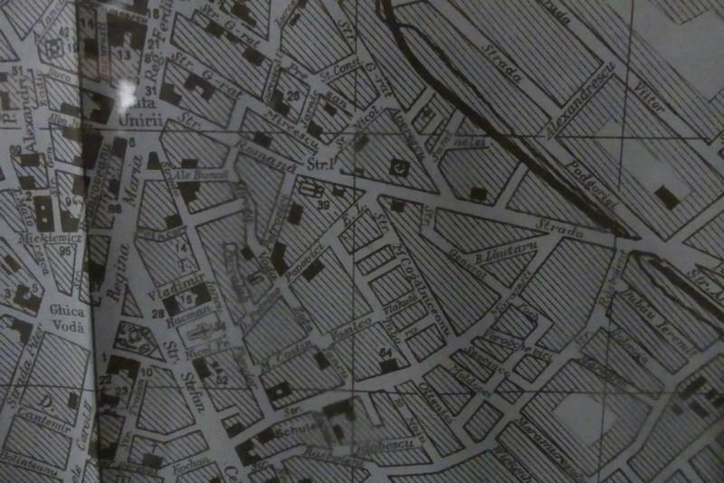 Harta Cernauti Romanesc
