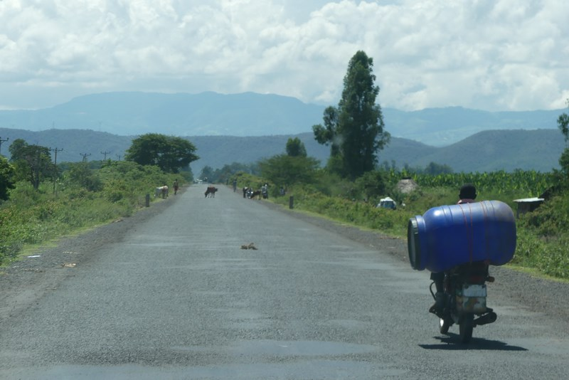 Drum Prin Sudul Etiopiei