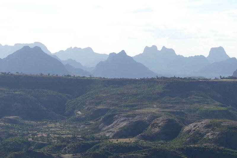Munti Etiopia