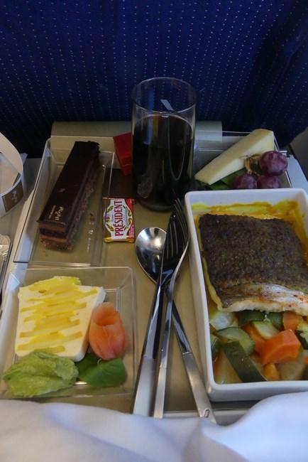 Meniu special Air France