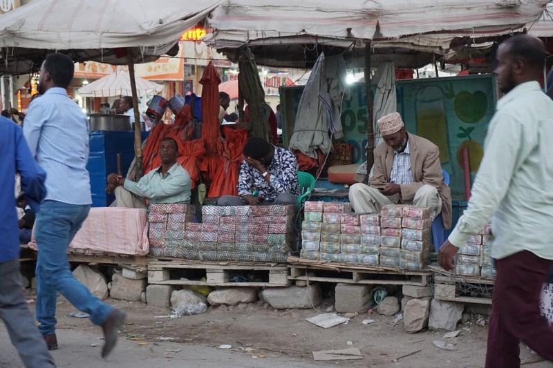 Money market Hargeisa Somaliland