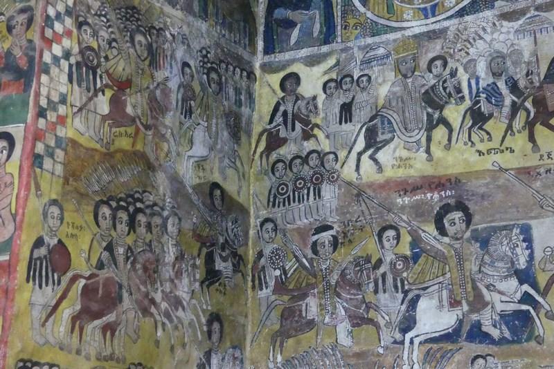 Fresce Biserica Etiopiana
