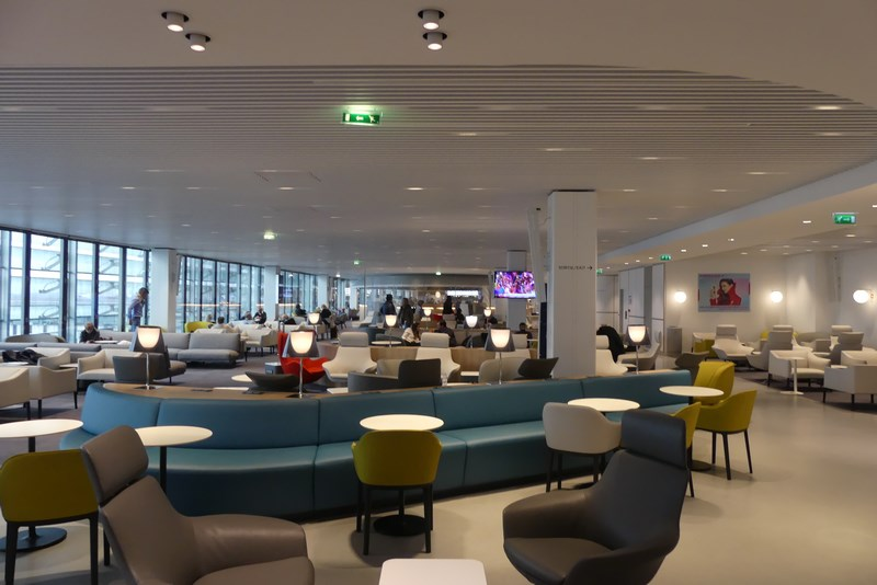 Paris CDG lounge