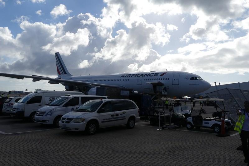 Air France St. Martin . St. Maarten