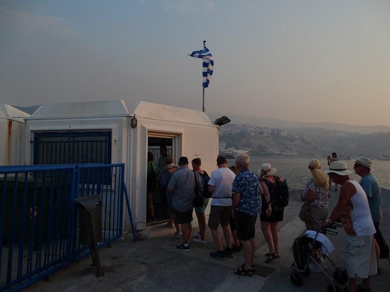 Punct control pasapoarte Samos