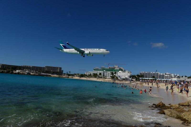 Aterizare in St. Maarten
