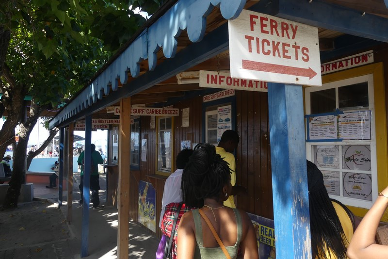 Ferry tickets Nevis
