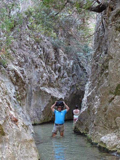 Potami gorges